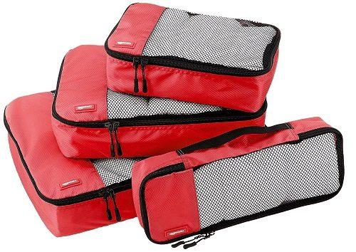 Amazon Basics Luggage Packing Cubes