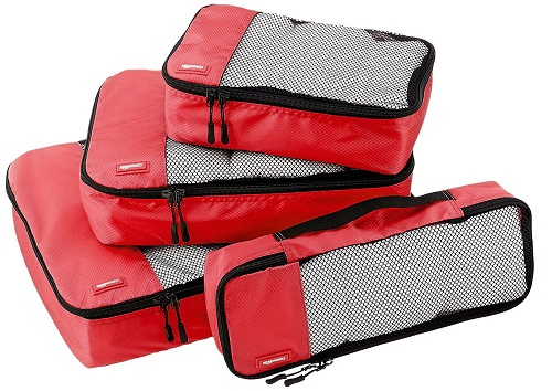 Amazon Basics Luggage Packing Cubes