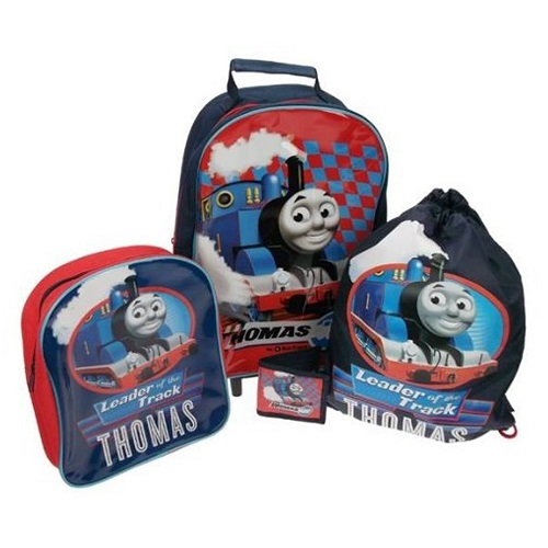 Thomas Ride the Rails Children's Luggage