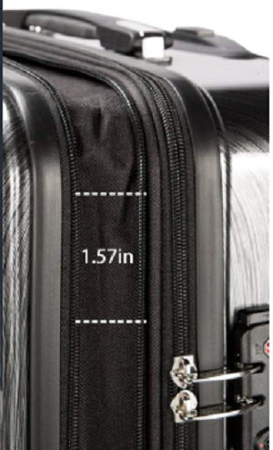 Coolife Expanding Spinner Luggage