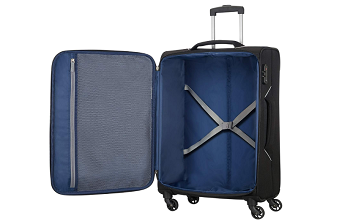 Holiday heat suitcase inside