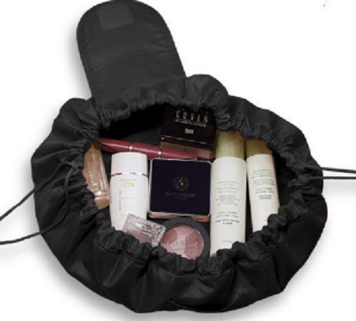 Lazy Drawstring Makeup Bag