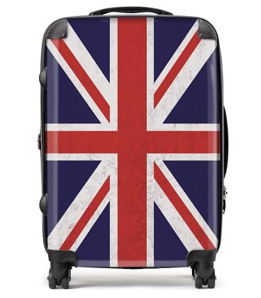 Best Union Jack Suitcase