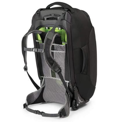 Wheeled Backpack for Festivals