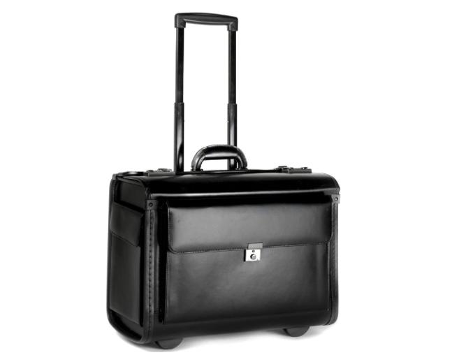 Tassia Leather Pilot Bag