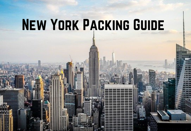 New York Packing Guide