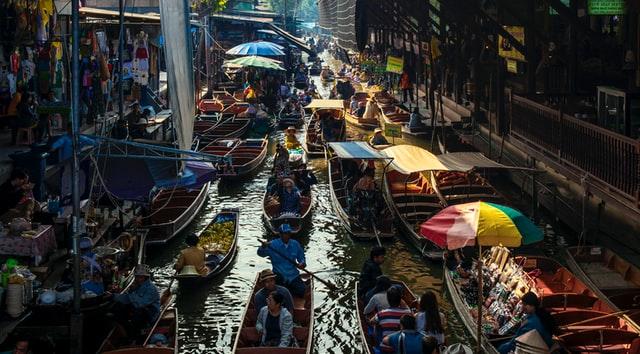 Floating Markets Thailand